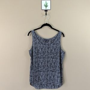 Eileen Fisher Silk Print Tank Top - Medium